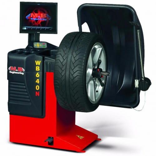 M&B Wb 640 балансировочный станок