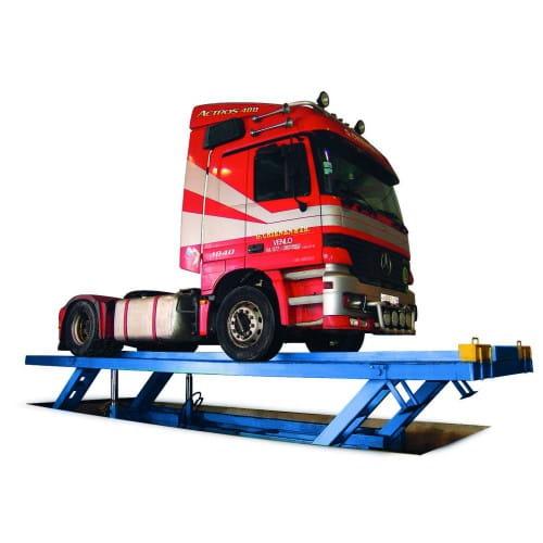 24Г272М четырехстоечный подъемник для грузовиков
