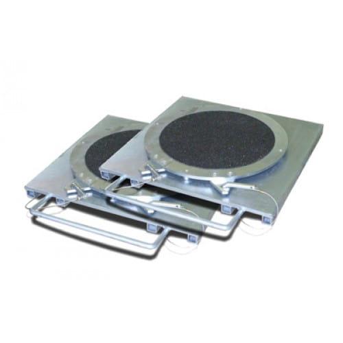 Усиленные передние поворотные платформы (без шкал)