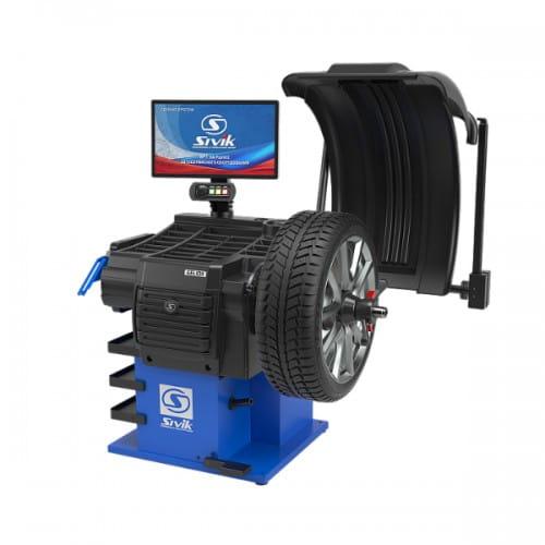 GELIOS станок для балансировки колес Сивик СБМП-60/3D Plus