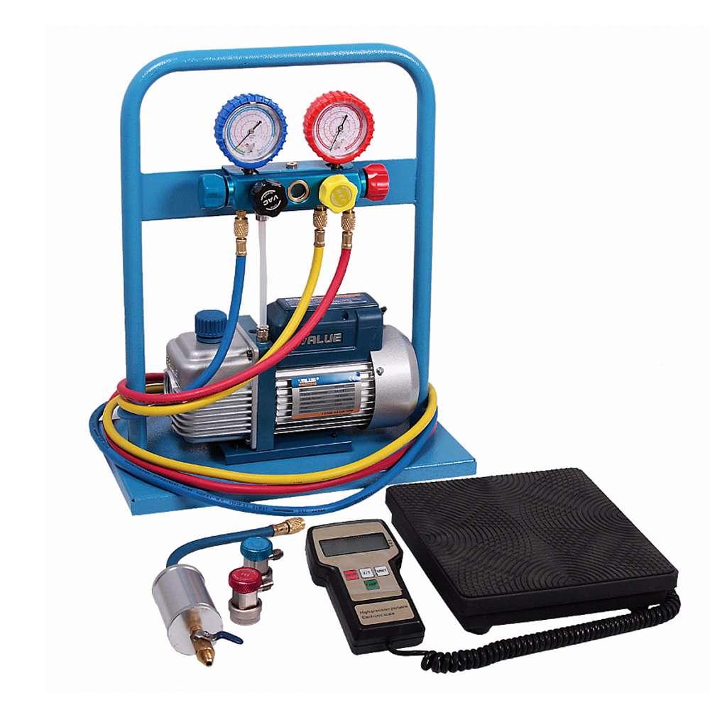 Комплект для заправки кондиционеров, compact ОДА Сервис AC-2014