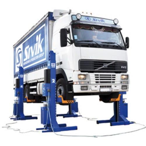 ПГП-30000 подкатные колонны передвижные для грузовиков
